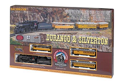 Bachmann Trains - Durango & Silverton Ready To Run Electric Train Set - HO Scale