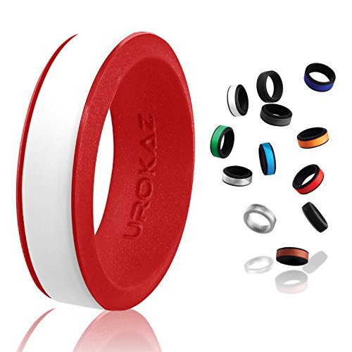 UROKAZ-Silicone Wedding Ring, The Only Ring That Fits Your Lifestyle-Whether You...