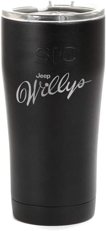 Jeep Willys お金を節約 ◆高品質 Script Logo Tumbler
