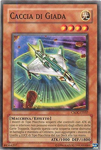 Yu-Gi-Oh! - CSOC-IT037 - Caza de Jade - Cruz del Chaos - Ed. Especial - Unlimited Edition - Comunes Tiradura Limitada