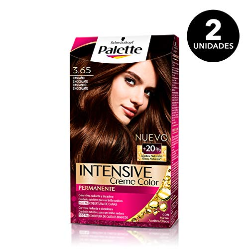 Palette Intense - Tono 3.65 Castaño Medio Chocolate