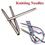 Jaysis 2pcs 550 Paracord Fids Lacing Stitching Weaving Nadeln Edelstahl