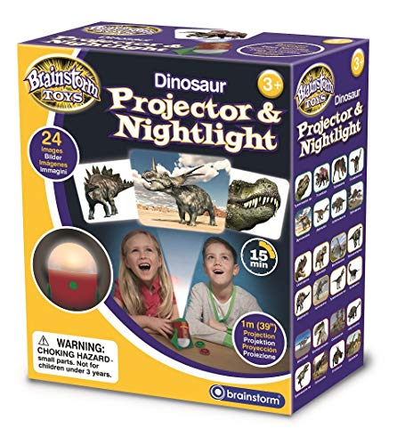 Brainstorm Toys-E2046 Proyector de Dinosaurios y luz Nocturna, Color (E2046)