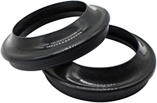 Cyleto Front Fork Dust Seal Kit for Suzuki RM125 RM 125 1977-1978 RM250 RM 250 1976-1978 RM 100 2003