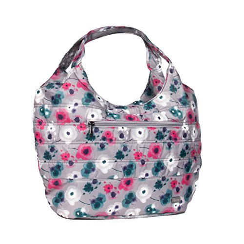 Lug Gondola Slouch Shoulder Bag, Water Color Pearl
