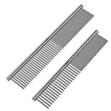 ROPO Pet Steel Combs Dog Cat Comb Tool for Removing Matted Fur - Pet...