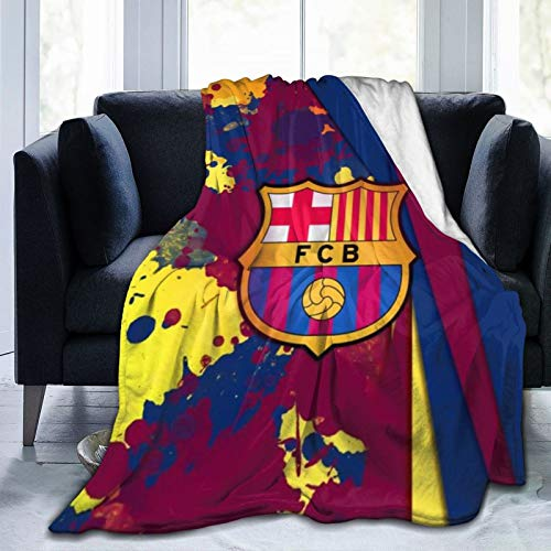 Krr B-Arce-Lona Ultra-Soft Micro Fleece Blanket 60'X50' Light Weight, Durable, Comfortable And Warm Universal Camping