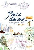Fleurs d'encre français cycle 4 / 4e - Livre élève - éd. 2016