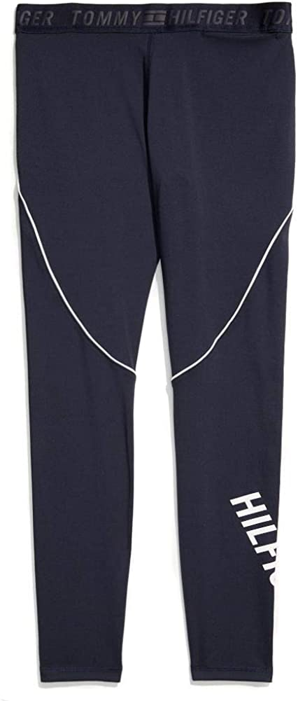 Tommy Hilfiger Women's Adaptive Performance Legging with Pull-up Loops