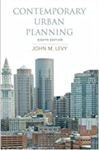 By John M. Levy:Contemporary Urban Planning (8th Edition) Eighth (8th) Edition (8/E) TEXTBOOK (non Kindle) [PAPERBACK]