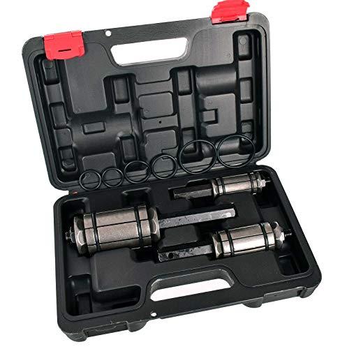 Rohrweiter Auspuff 30-85 mm Auspuffaufweiter Rohr Aufweiter Rohraufweiter Rohrausweiter Rohrspreizer Set 30-85 mm Koffer