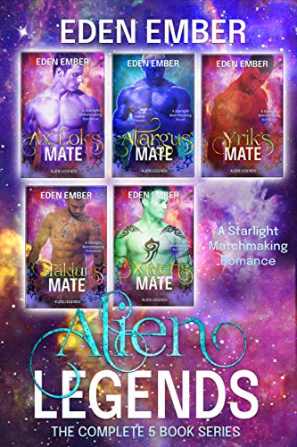 Alien Legends: The Complete 5 Book Series, A Starlight Matchmaking Romance (English Edition)