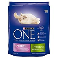 Purina One Sensitive Turkey & Rice 800g