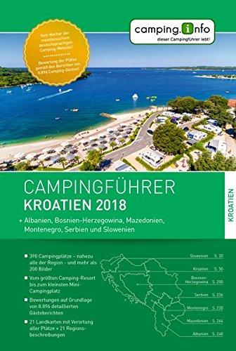 Campingführer Kroatien 2018