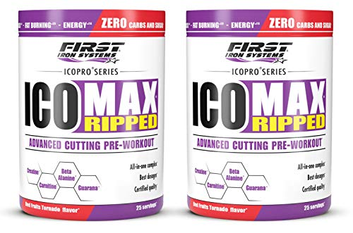 ICOMAX RIPPED (Sabores diferentes, Pack 2 cajas)
