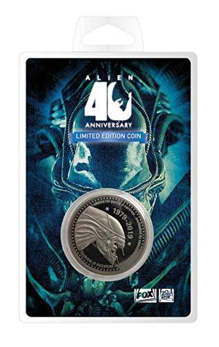 Moneda Alien. 40th Anniversary. Silver Edition. Fanatik