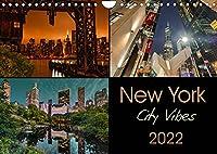 New York City Vibes (Wandkalender 2022 DIN A4 quer): Fotografien mit einzigartiger Atmosphaere und neuen Perspektiven (Monatskalender, 14 Seiten )