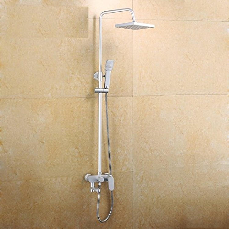 TS-nslixuan LGH Badezimmer Dusche, Dusche, Platz Aluminium Dusche, Badezimmer, Dusche Düse, einfache und schnelle
