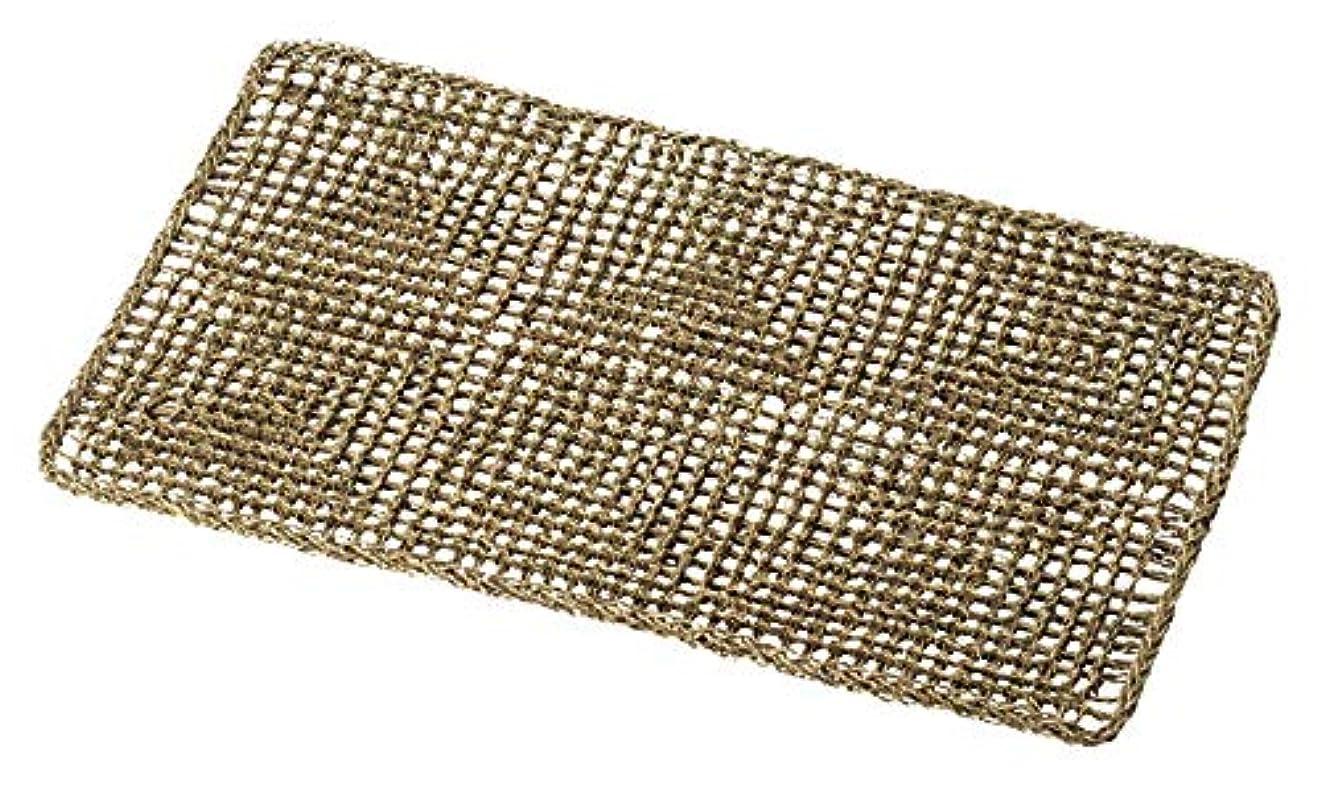独立した膨らみ受けるシーグラスバスマット 90×53cm 02-71