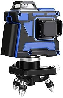 12 líneas Niveles láser 3D azul Autonivelante 360