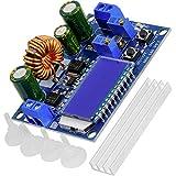 AZDelivery HW-140 DC-DC Buck Boost Power Converter Automatischer Step Up/Down, Volt- und Ampere-Meter-LCD-Anzeige, Spannungswandler 3A 5,5V-30V zu 0,5V-30V...