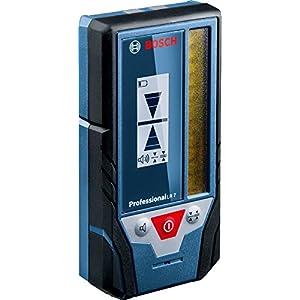 Bosch Professional LR 7 – Receptor para nivel láser rojo y verde (alcance de radio 50 m, con soporte, en caja)