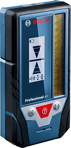 Bosch Professional 0601069J00 Cellule de Réception LR 7 Professional, Bleu