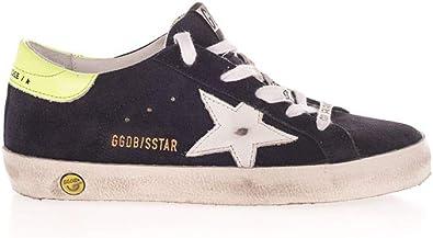 Golden Goose Luxury Fashion Ragazzo GYF00101F00044050528 Blu Pelle Sneakers   Primavera-Estate 21