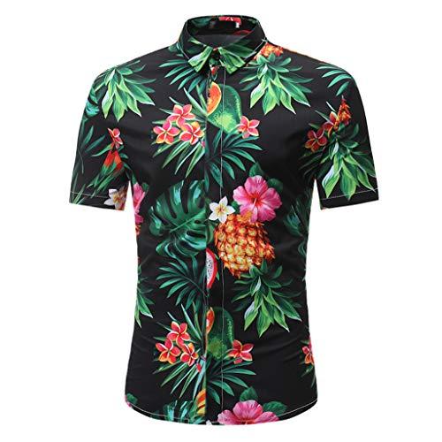 Yowablo Hemd Shorts Anzug Männer Mode...