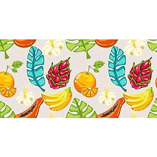 Flor Perro Gato Toalla de Playa de Microfibra, Absorbente Toalla de Baño, Toalla de Playa para Nadar, Deportes, Viajes, Toalla de Mano, de Fácil Cuidado(Multicolor5,130x80cm)