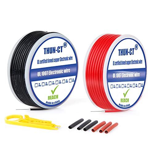 18 AWG eléctricos de núcleo sólido deAlambres eléctricos Kit - Cable eléctrico...
