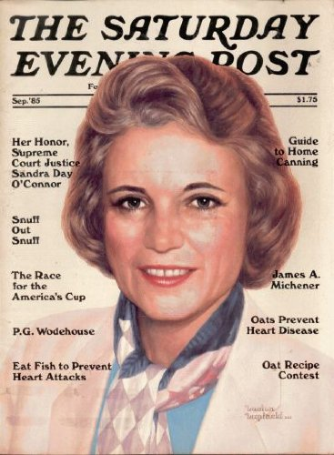 The Saturday Evening Post - Feb 1985 - Brooke Shields on Cover