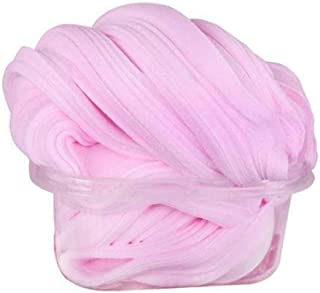 Fluffy Slime 5.3 OZ Pink Jumbo Fluffy Floam Slime Stress Relief Toy Super Soft