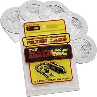 Metro Vacuum 120-516620 DVP26RP Disposable Bags, 5-Pack