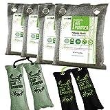 Nature Fresh Air Purifier Bags, Bamboo Charcoal Air Purifying Bags, Activated Charcoal Air Purifying Bag Odor Eliminators For Home, Activated Charcoal Odor Absorber, Odor Eliminator, Closet Deodorizer