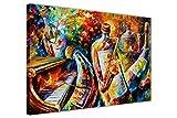 Leonid Afremov Kunstdruck auf Leinwand, abstraktes Motiv