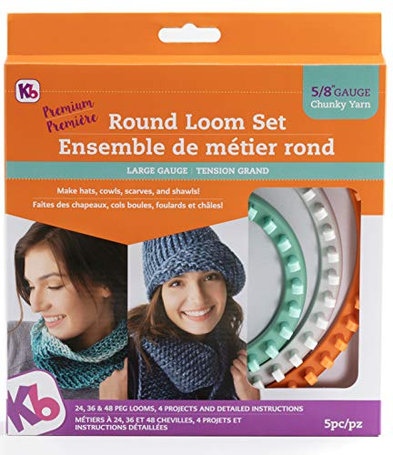 Authentic Knitting Board 'Premium' Chunky Round Knitting Loom Set