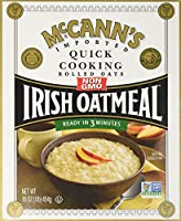 McCANN'S Irish Oatmeal Quick Cooking Rolled Oats 16-Ounce Boxes (Pack of 6) [並行輸入品]