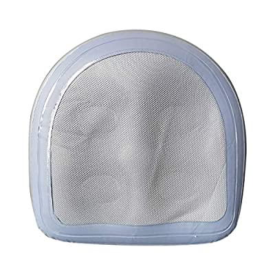 Spa and Hot Tub Booster Seat Pad with Suction Cup, Back Support Bath Spa Pad, with Mesh Soft Inflatable Massage Cushion, Comfortable Durable Suction Seat for Hot Tub & Spa (Blue)