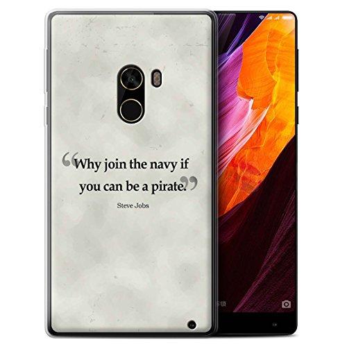 Stuff4 Var voor populaire apparaten Beroemde citaten Xiaomi Mi Mix 2 Steve Vacatures