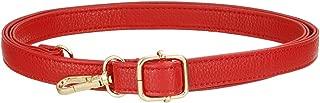 Wide Adjustable Grain Leather Shoulder Strap for CrossBody Bag Purse Women