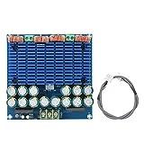 Fafeicy Tablero amplificador, Tablero amplificador digital HIFi de alta potencia TDA8954 420W + 420W 2.0 Tablero amplificador Clase D con estuche