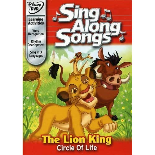 Amazon Com Disney S Sing Along Songs The Lion King Circle Of Life