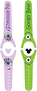 Vinyl Skin Decal Wrap Sticker Cover for the MagicBand 2 Magic Band Monster Couple