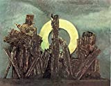 p5988 A3 Poster Max Ernst The great foresta 1926 - Art