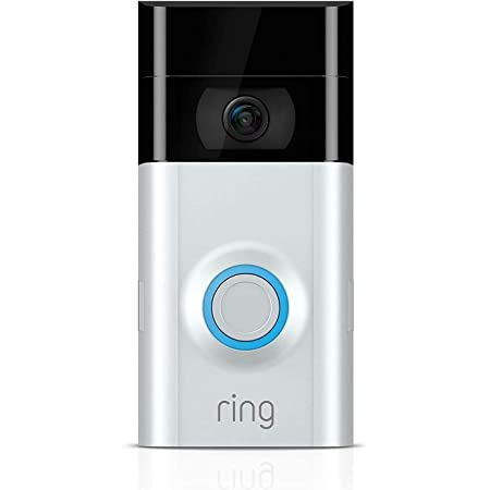 Ring Video Doorbell 2 with HD Video, Motion Activated Alerts, Easy Installation (Used Condition)