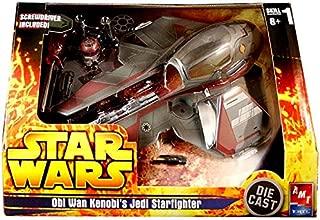 Star Wars Die Cast Model Kit Obi Wan Kenobi's Jedi Starfighter