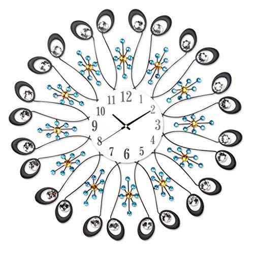 Relojes de pared HXF Sala de Estar Creativo Minimalista Moderno Reloj de Silencio Cartas de Pared con Personalidad Preciso