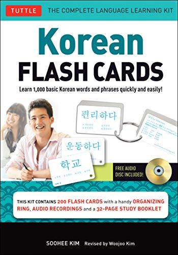 3gE eBook] Korean Flash Cards Kit: Learn 1,000 Basic Korean Words