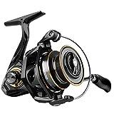 PLUSINNO Spinning Reel, 9+1 BB Fishing Reel, Ultra Smooth Powerful, CNC Aluminum Spool for Saltwater Freshwater Fishing